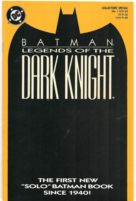 Batman Legends Of The Dark Knight issue 1