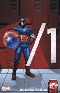 Captain America Dr Pepper ad