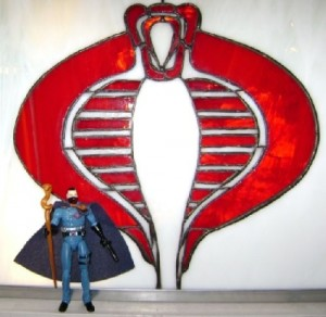 Cobra Stained Glass
