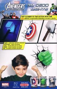 Marvel 3D lights ad