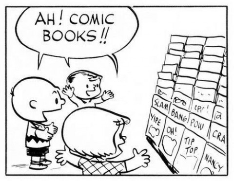 Peanuts Comic Rack