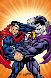 Superman vs Bizarro