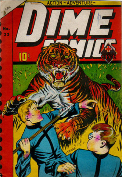 Dime Comics 33 (Bell Features)