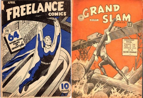 Freelance Vol. 1 No. 7 and Grand Slam Vol. 3 No. 11