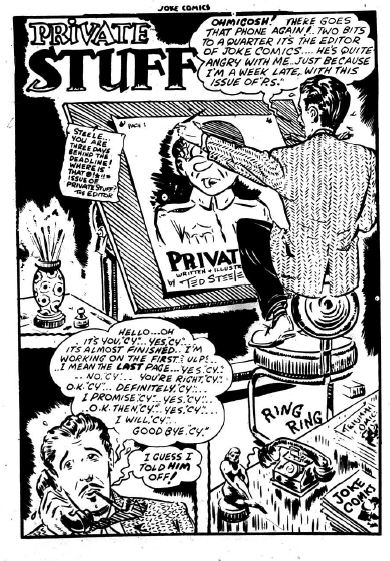 Joke Comics 16 p. 1