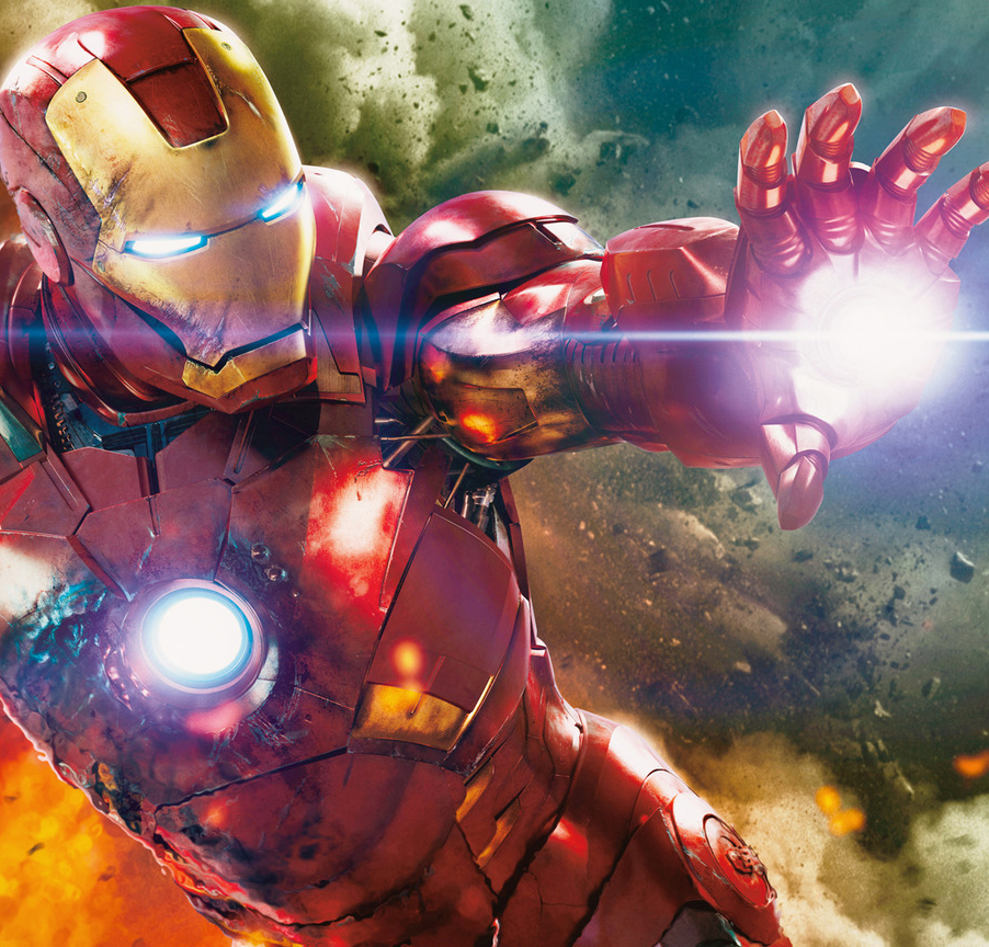 Downey Jr & Iron Man 3 Cast In London