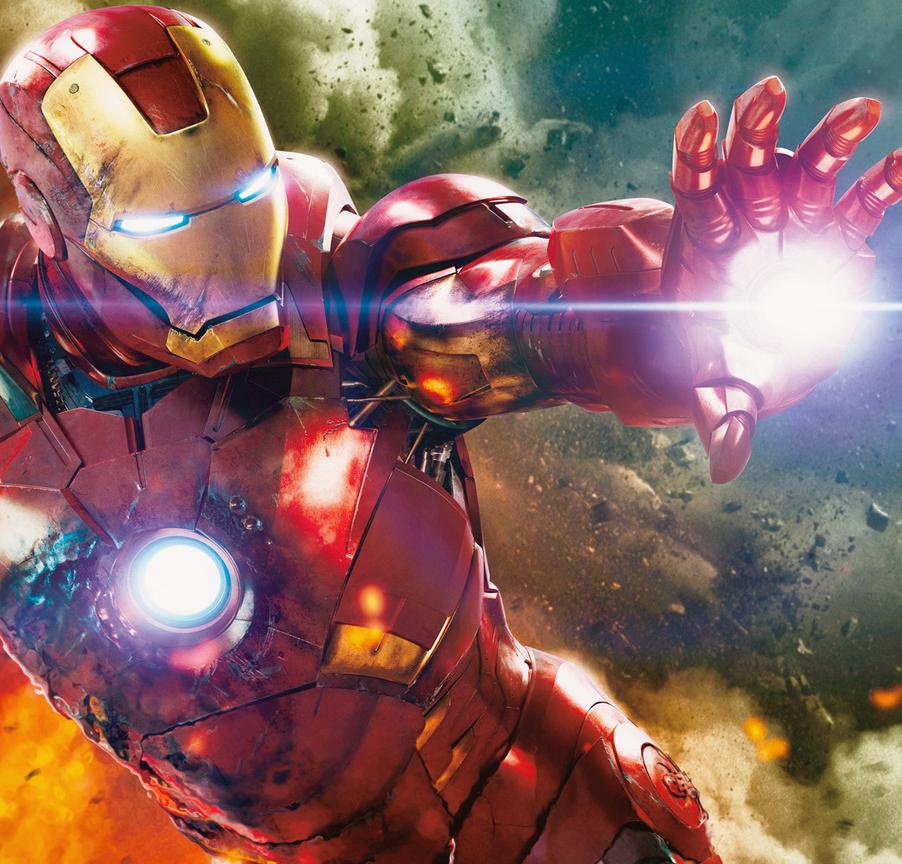 Downey Jr & Iron Man 3 Cast In London