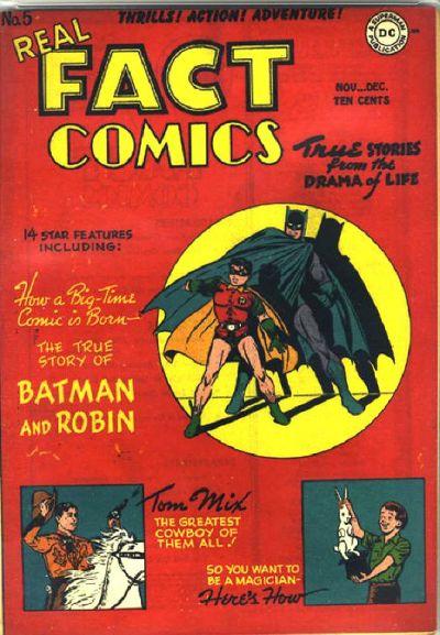 Real Fact Comics No. 5