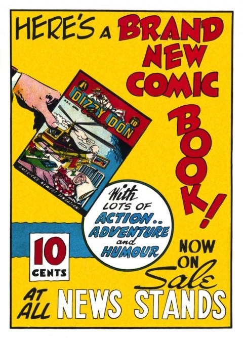 Back Cover of Super Duper Comics No 3 by F. E. Howard