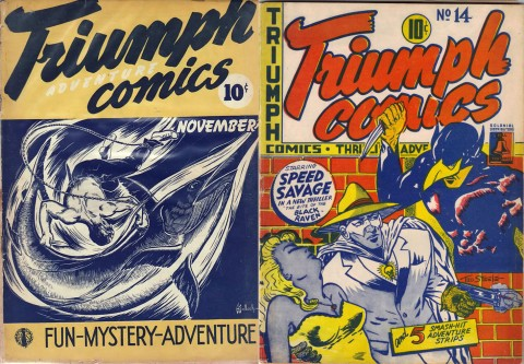 Triumph-Adventure 4 and Triumph 14