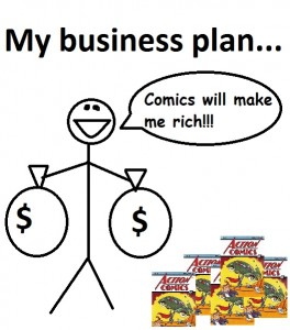 Comic Business Plan