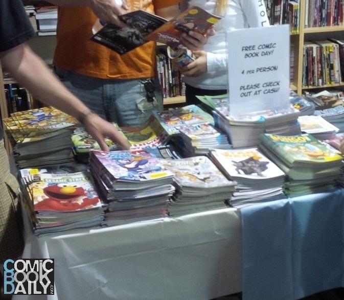 Free Comic Book Day 2013