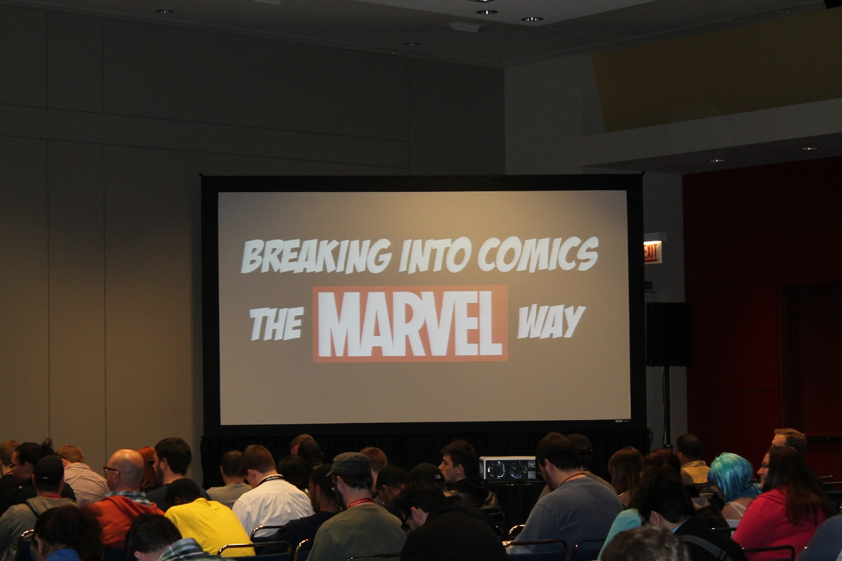 Breaking Into Comics the Marvel Way