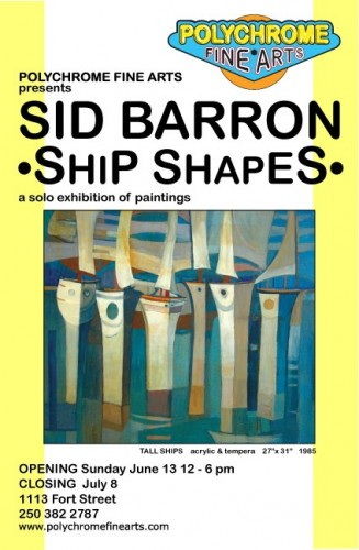 Sid Barron show catalogue