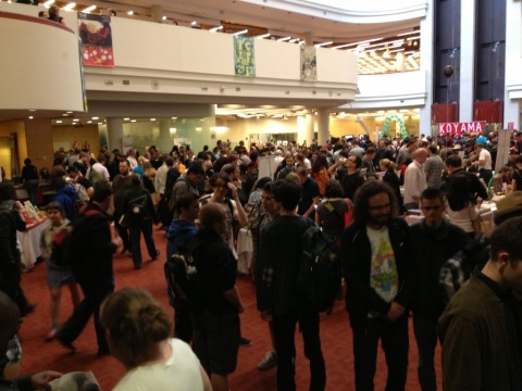 TCAF 2013 Show Floor