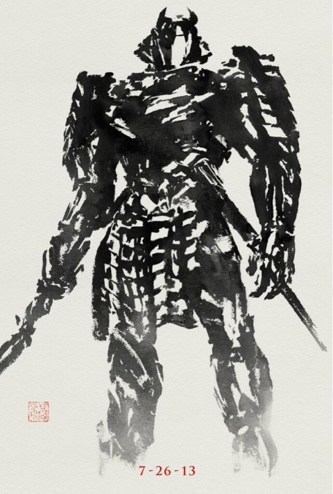 The Wolverine Silver Samurai movie poster