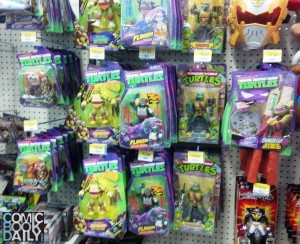 Toy Shelf TMNT
