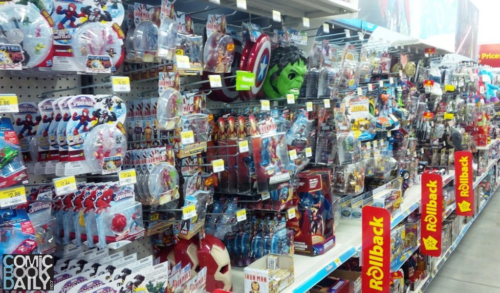 Where can you buy action figures?