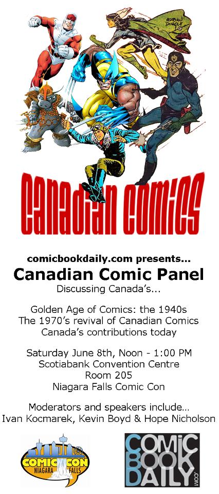 Canadian Comics Panel