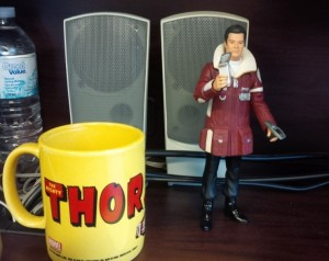 Coffee time with Kirk