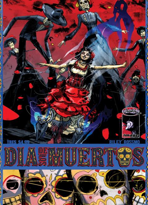 Dia de los Muertos #3 cover