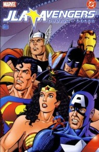 JLA Avengers Issue 1 cover