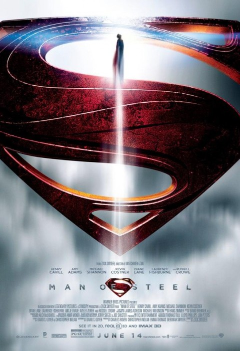 Man Of Steel Symbol poster
