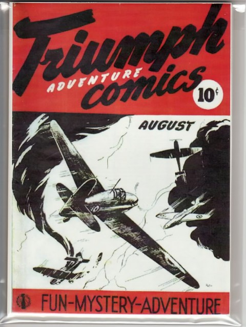 Triumph Comics No. 1