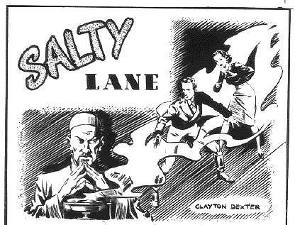 Part of a Clayton Dexter splash from Commando Comics No. 21