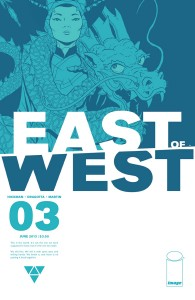 East of West #3 cover