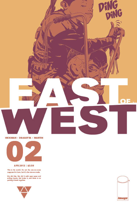 East of West #2 cover