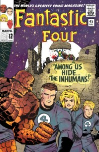 fantastic four 45 inhumans