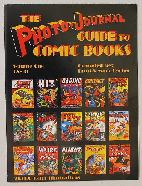 Steve Gerber's first volume of The Photo-Journal