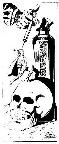 Ross Saakel Capt. Wonder splash panel form Joke Comics No 26