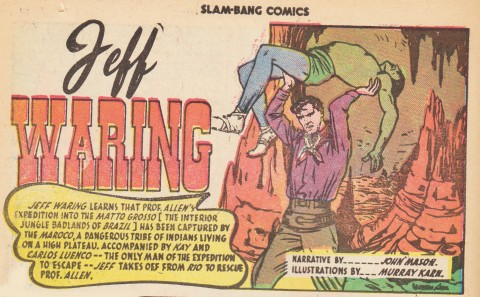 From Slam-Bang Comics No. 7, May 1946.
