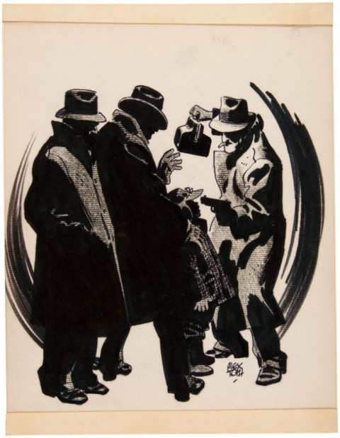 Gangster Stick-Up by Alex Toth