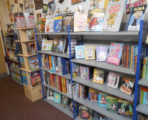 Library Graphic Novels 2