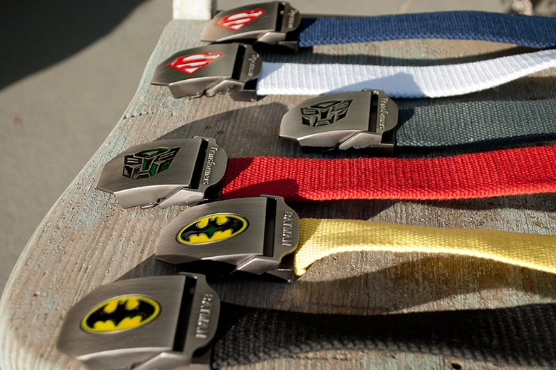 Titan's Treasures Superhero Belts