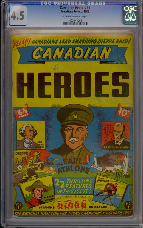 Canadian Heroes Vol. 1 No. 1