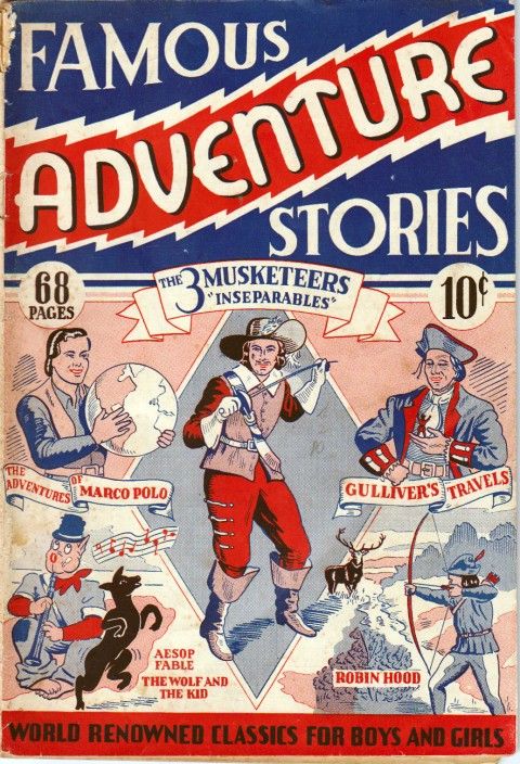 Educational Projects' Famous Adventure Stories No. 1