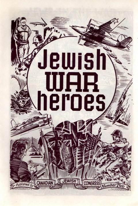 Public service comic Jewish War Heroes No. 1