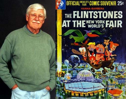Mel Crawford with one of his covers from 1964.