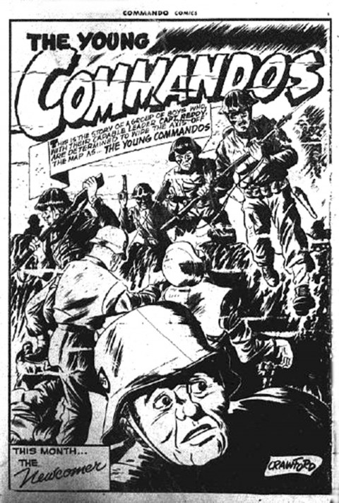 From Commando Comics  No. 1, p. 1