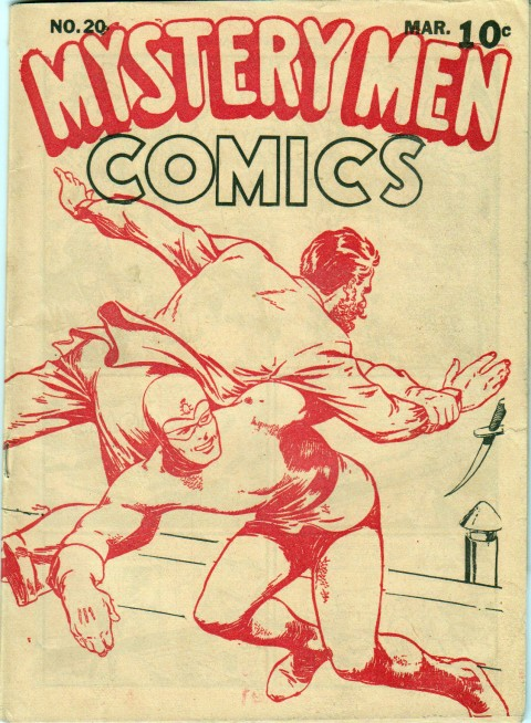 Anglo-American Mystery Men 20 reprint from March, 1941