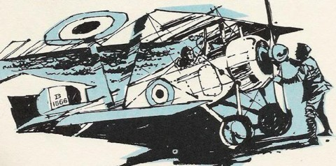 Illustration from the Billy Bishop book