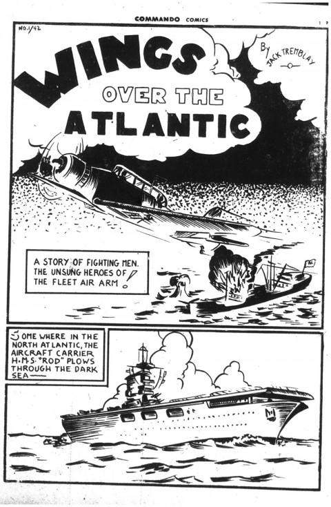 From Commando Comics  No. 1