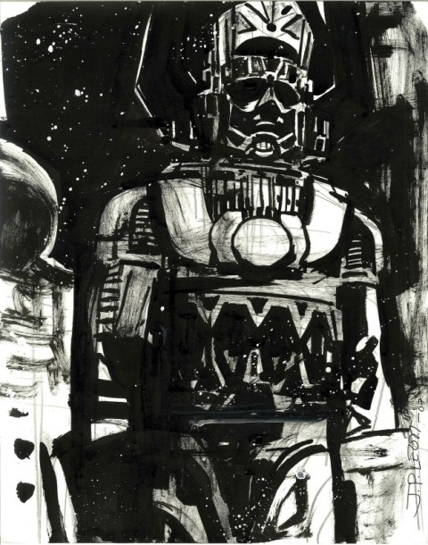 2007 Sketch J.P. Leon Galactus