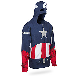 Think Geek - Captain America Themed Hoodie