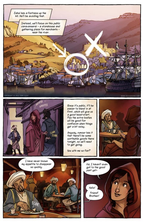Delilah Dirk and the Turkish Lieutenant interior 2