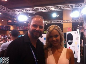 Ed Campbell and Laura Vandervoort